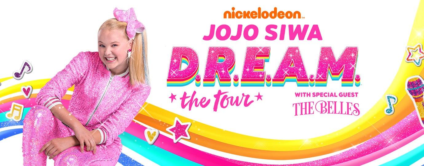 Rescheduled Nickelodeon Jojo Siwa D R E A M The Tour Resch Center