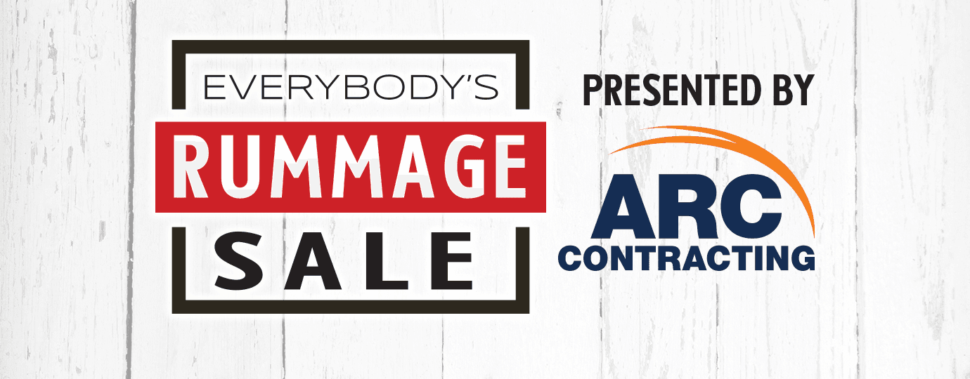 Everybody's Rummage Sale Presented by ARC Contracting