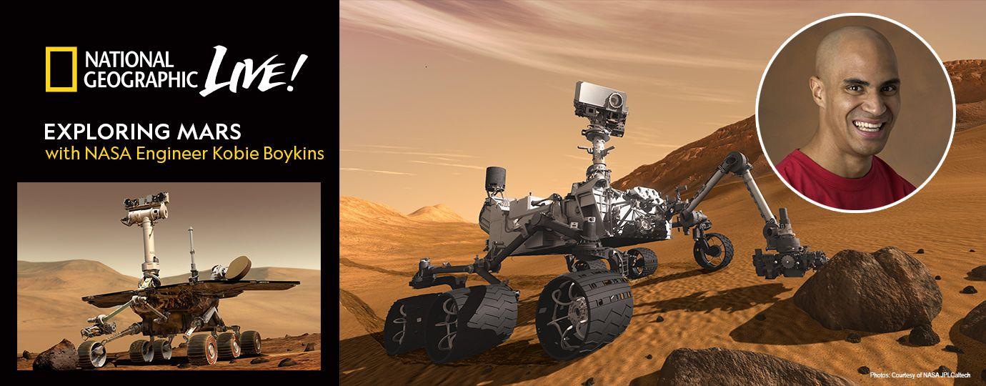 Exploring Mars with Kobie Boykins