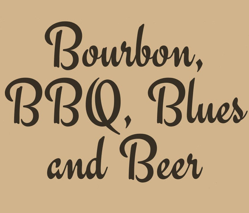Bourbon, Brew, BBQ, & Blues