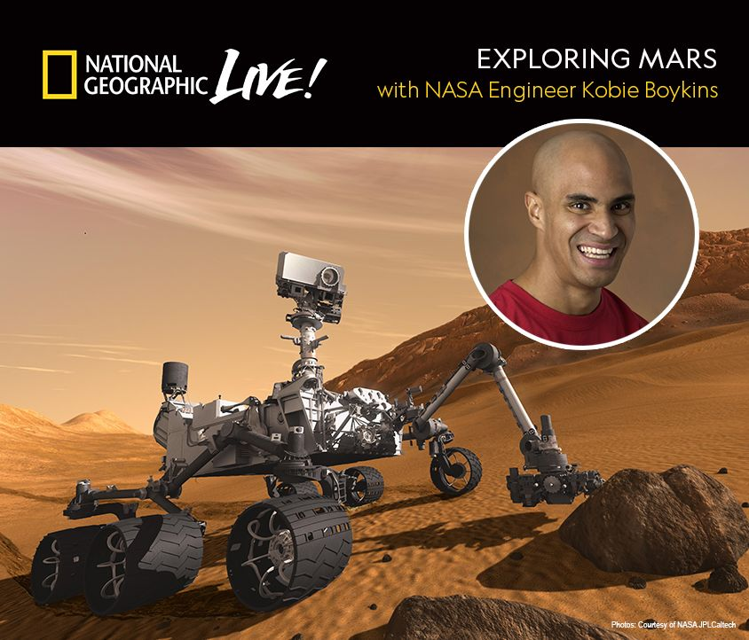 Exploring Mars with Kobie Boykins