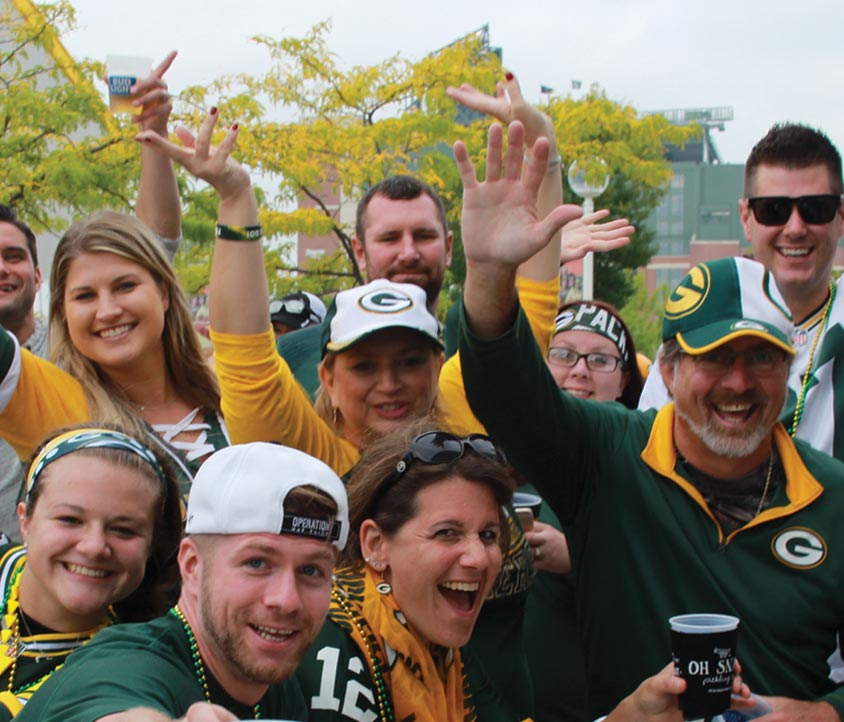 Bart Starr Plaza Tailgate Party