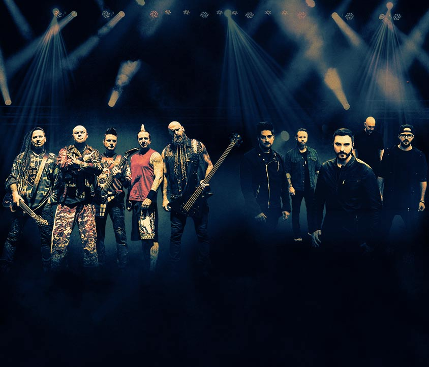 Five Finger Death Punch and Breaking Benjamin