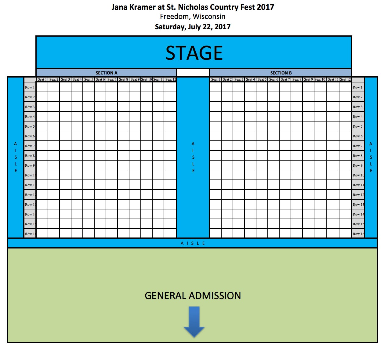... Church & School, Freedom, WI Get Directions View Seating Chart
