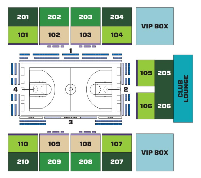 Seating Maps | Ticketstar