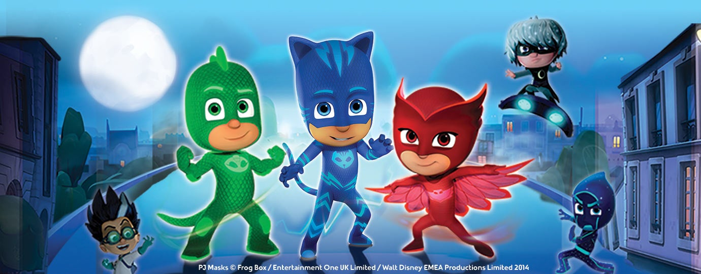 pj masks live resch center