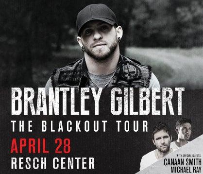 Resch Center Brantley Gilbert