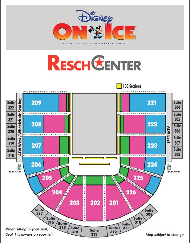 View Seating Chart Get Directions